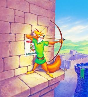 Walt Disney Posters - Robin mui xe