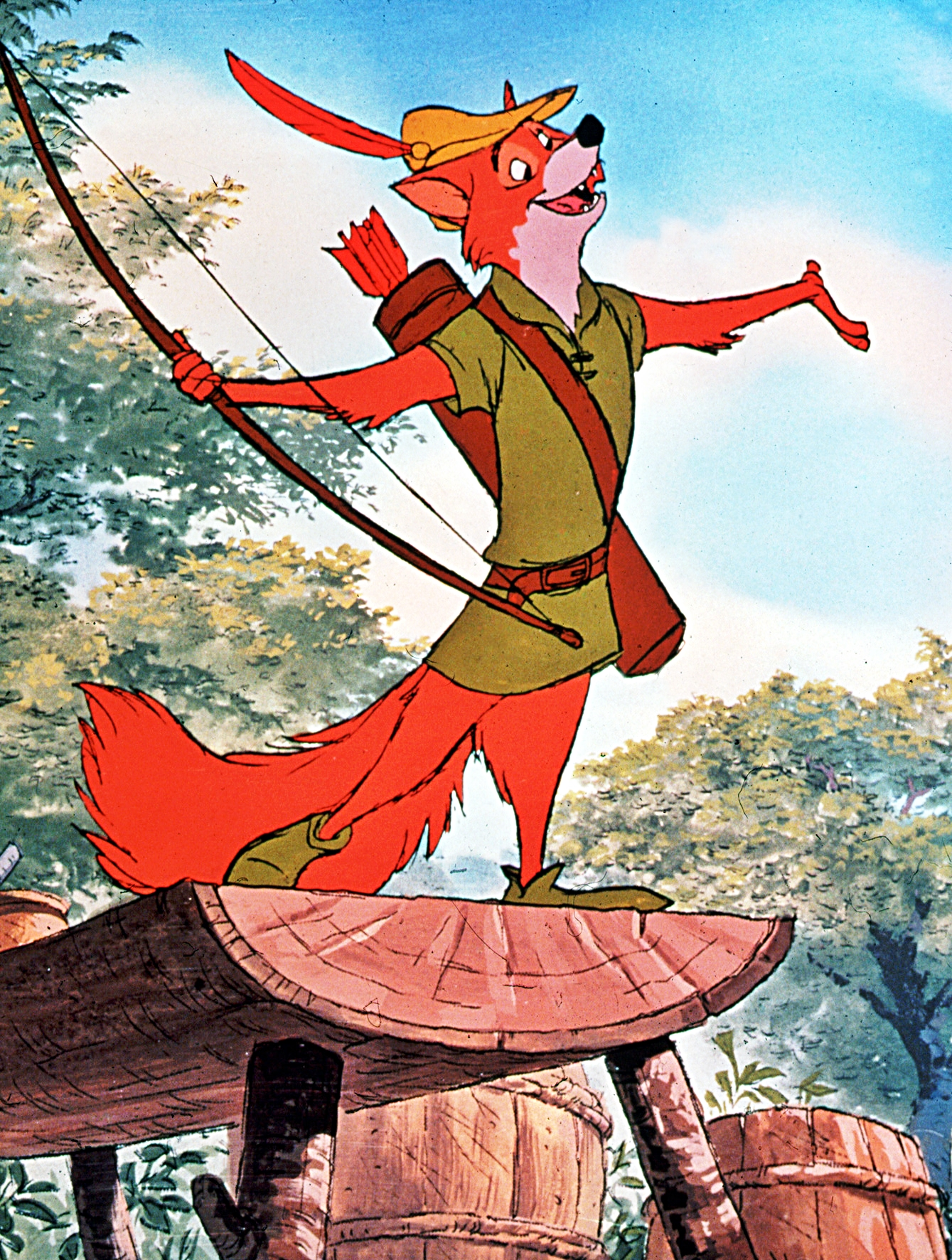 an analysis of king johns personality in disneys version of robin hood
