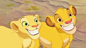 Walt 디즈니 Screencaps - Nala & Simba