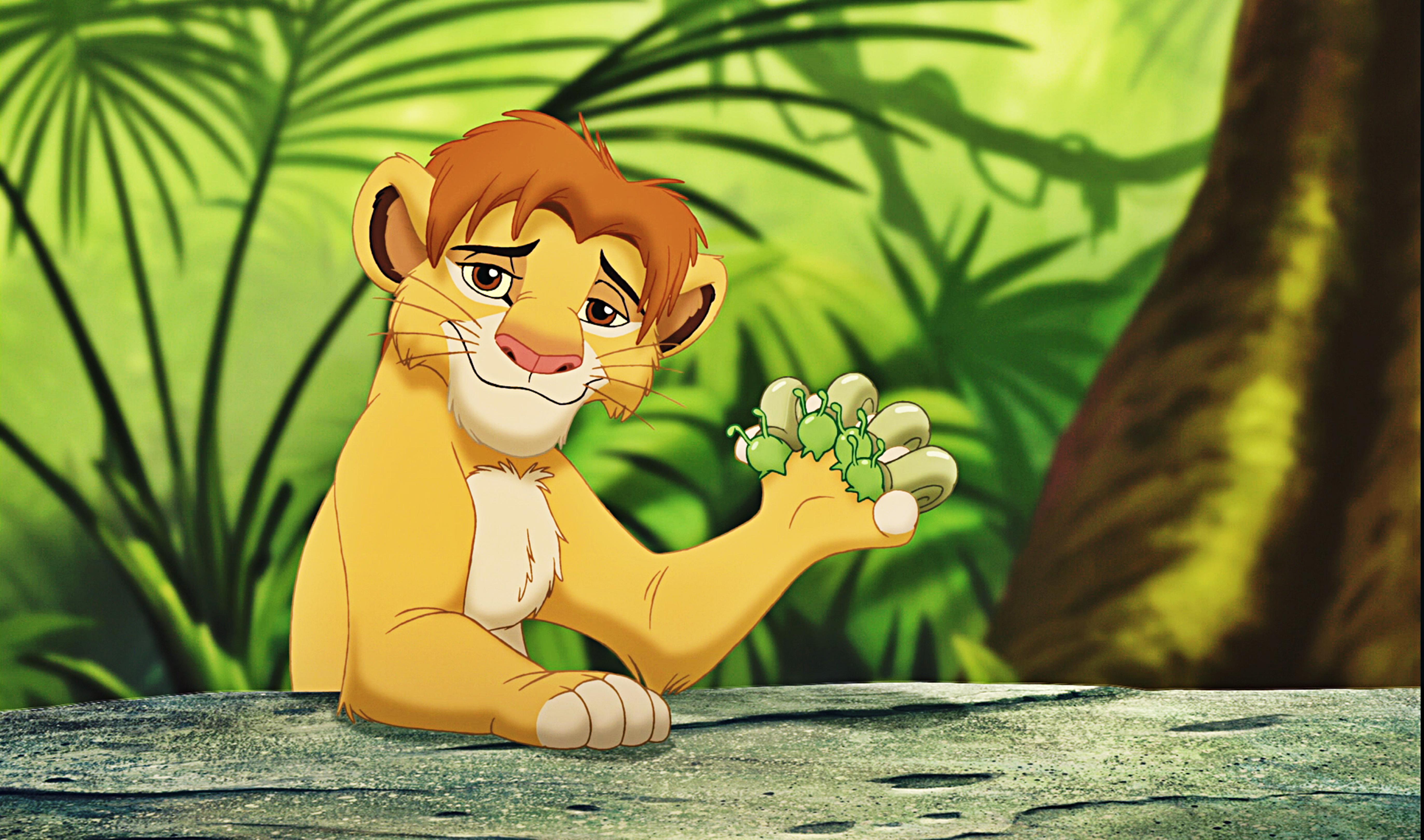 Walt ディズニー Screencaps - Simba