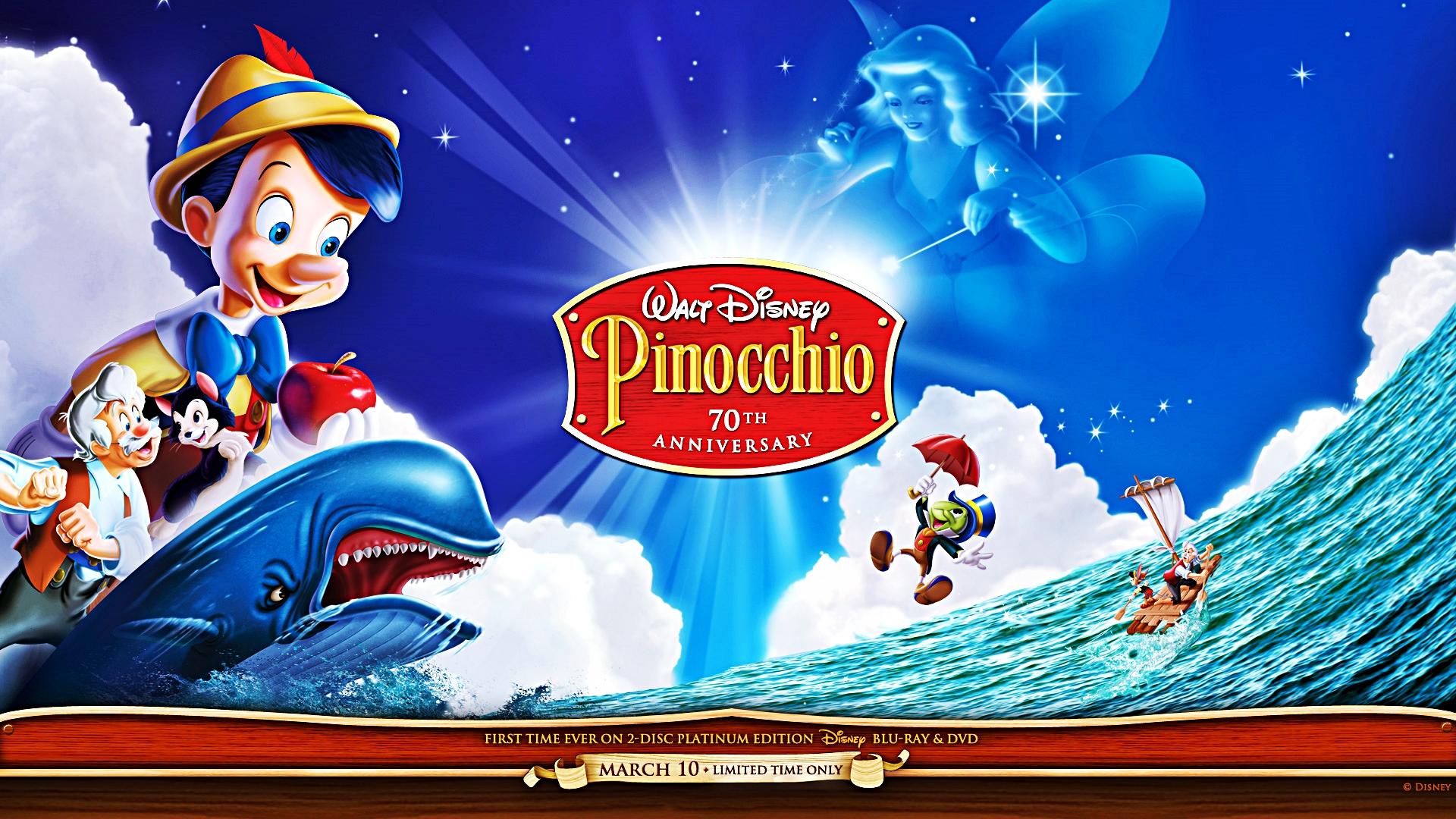 Walt Disney fonds d'écran - Pinocchio