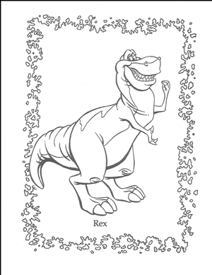 We're Back coloring page 1