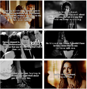 When Elena Knew She Loved Damon