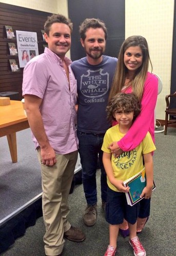 Will Friedle wallpaper possibly with a sign, a street, and a carriageway called Will Friedle with Danielle Fishel, Rider Strong and August Maturo