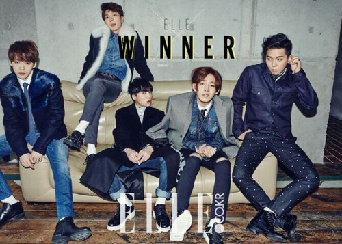 Winner Hotties For Elle Korea Kpop Photo 37694944