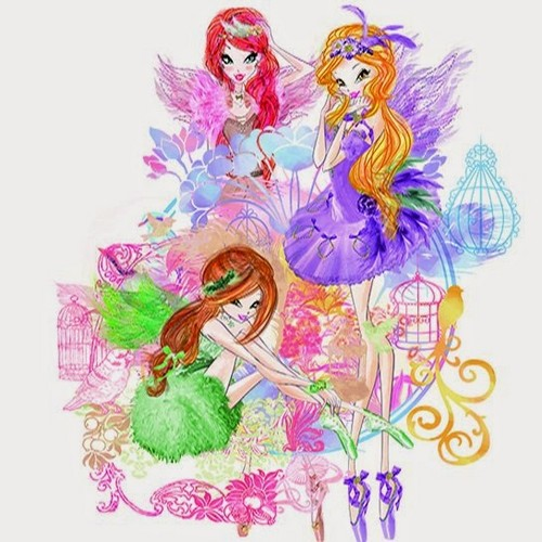 The Winx Club wallpaper possibly containing a bouquet and anime entitled Winx Fairy Couture