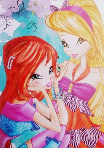El Club Winx fondo de pantalla possibly containing anime called Winx Fairy Couture