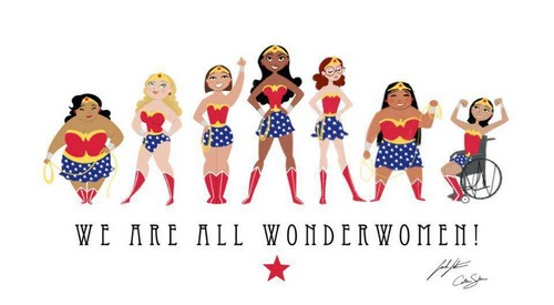 Feminism wallpaper called Wonderwomen