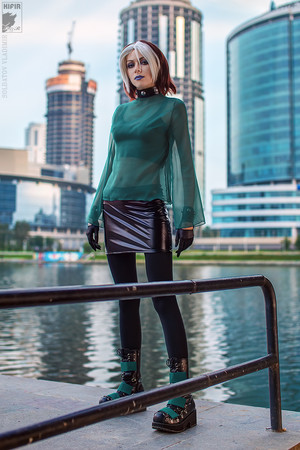 X-men: Evolution Rogue Cosplay