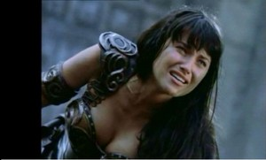 Xena suffering
