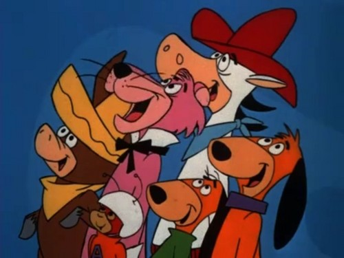 Hanna Barbera 壁纸 containing 日本动漫 called Yogi's Gang (Group 1)
