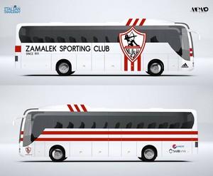 ZAMALEK SPORTING CLUB BUS