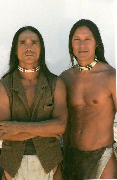 Zahn McClarnon and Rick Mora