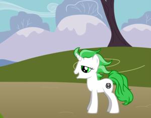 Zangetsu pony