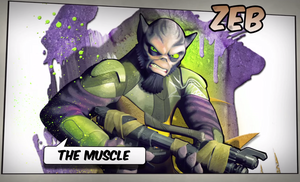 Zeb: The Muscle