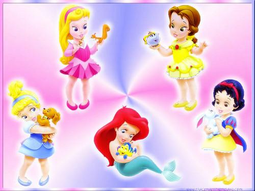 putri disney wallpaper titled bayi princess