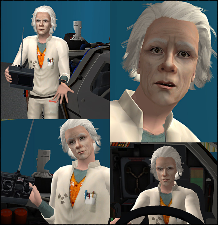back to the future in the sims 2