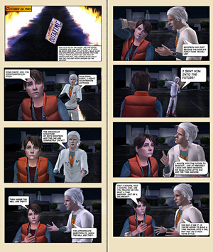 back to the future sims 2