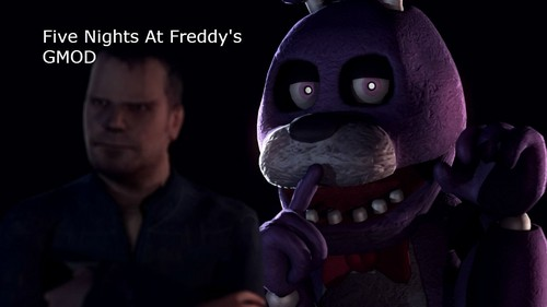 Five Nights at Freddy's kertas dinding called bonnie