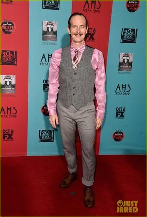 cast @ the 'American Horror Story: Freak Show' Premiere