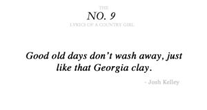 country muziki lyrics
