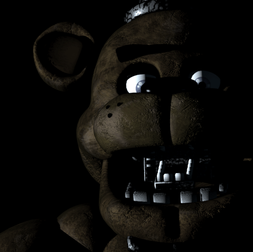 Five Nights at Freddy's kertas dinding titled evil freddie