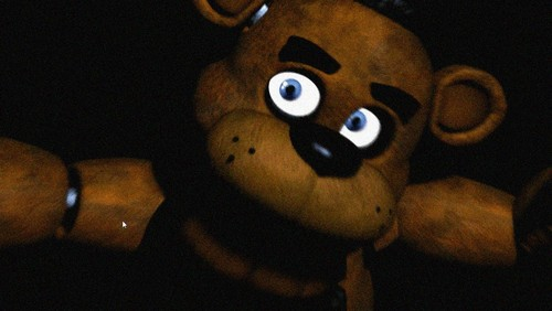 Five Nights at Freddy's achtergrond called freddy