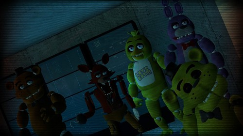 Five Nights at Freddy's پیپر وال entitled gmod