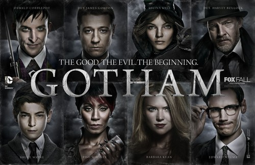 Gotham wallpaper possibly with anime entitled Gotham