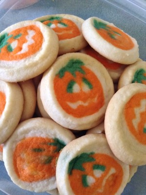 halloween kue, cookie