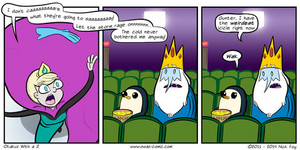 ice king and queen comic