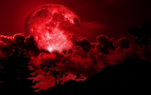 it's the blood moon