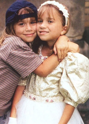 Mary-Kate & Ashley Olsen 壁纸 probably containing a neonate titled it takes two