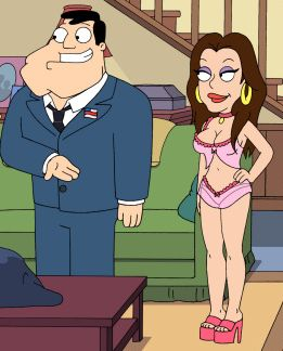 kat Dennings is in american dad