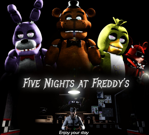Five Nights at Freddy's kertas dinding called lets do this