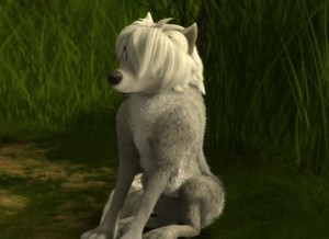 lilly,the hot white lobo