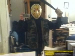 my homemade Jason Voorhees costume