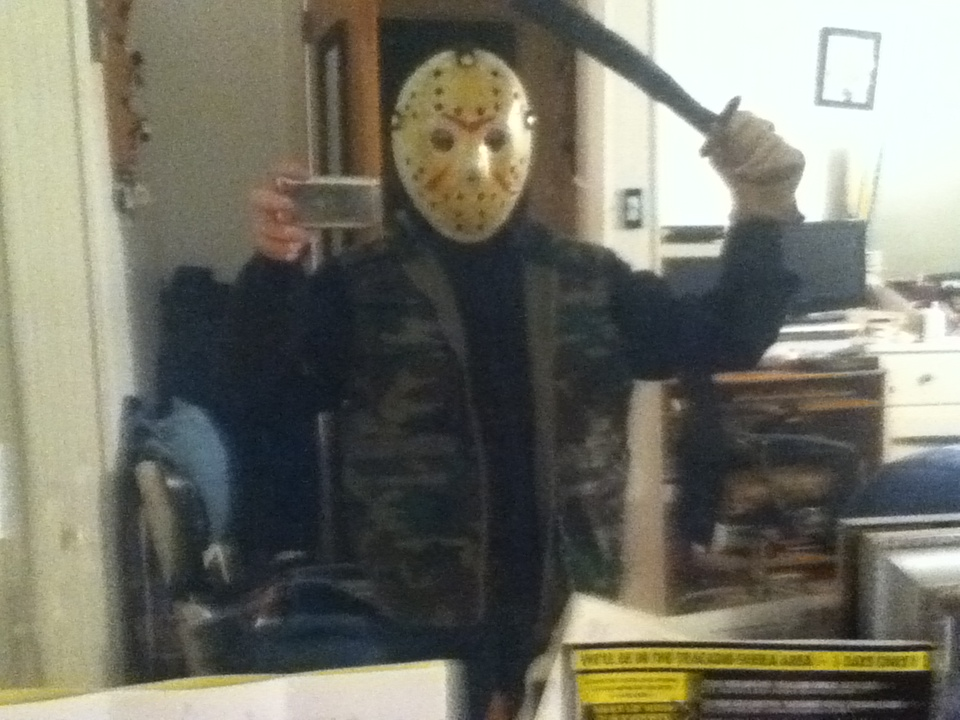 My Homemade Jason Voorhees Costume Halloween Foto