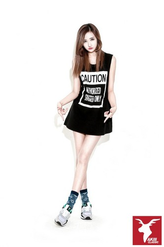 EXID (이엑스아이디) 바탕화면 possibly containing a 칵테일 dress, a playsuit, and a chemise called EXID for AKII CLASSIC KOREA