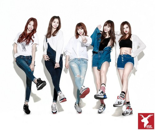 EXID (이엑스아이디) 바탕화면 containing a legging, a well dressed person, and a playsuit entitled EXID for AKII CLASSIC KOREA