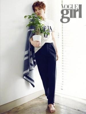 Sungjong for 'Vogue Girl'