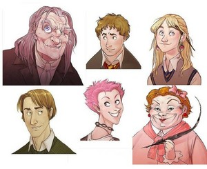 Harry Potter as ディズニー Characters