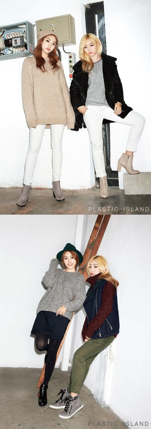 Hyorin and Bora for 'PLASTIC ISLAND'