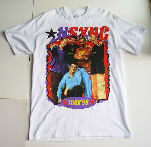 NSYNC achtergrond containing a jersey called nsync concert t-shirt