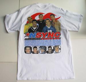 nsync concerto t-shirt