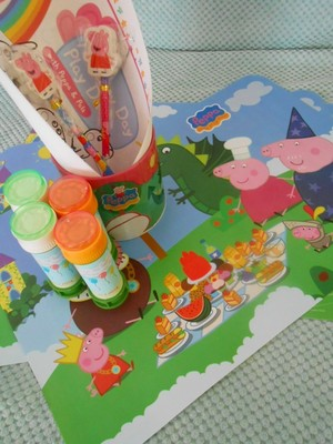 peppa pig favor party