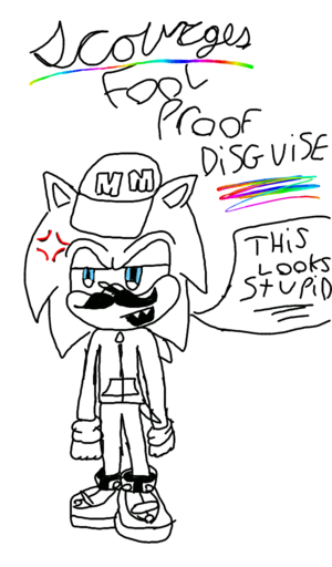 scourges fool proof disguise