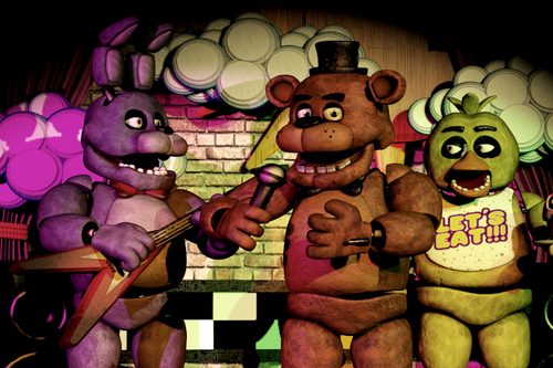 Five Nights At Freddy's hình nền possibly with anime entitled hát