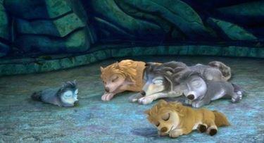 sleeping famliy