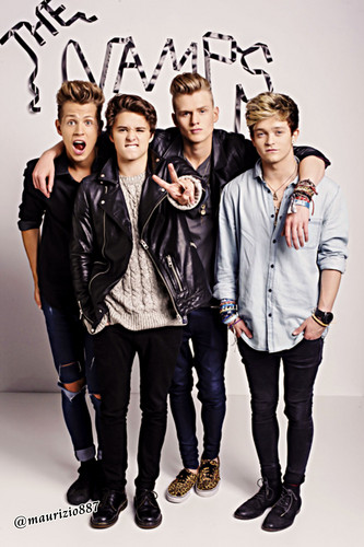 The Vamps wallpaper with a well dressed person, an outerwear, and a box coat called the vamps, 2014